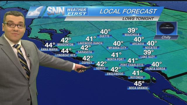 Suncoast weather forecast - Suncoast News and Weather Sarasota
