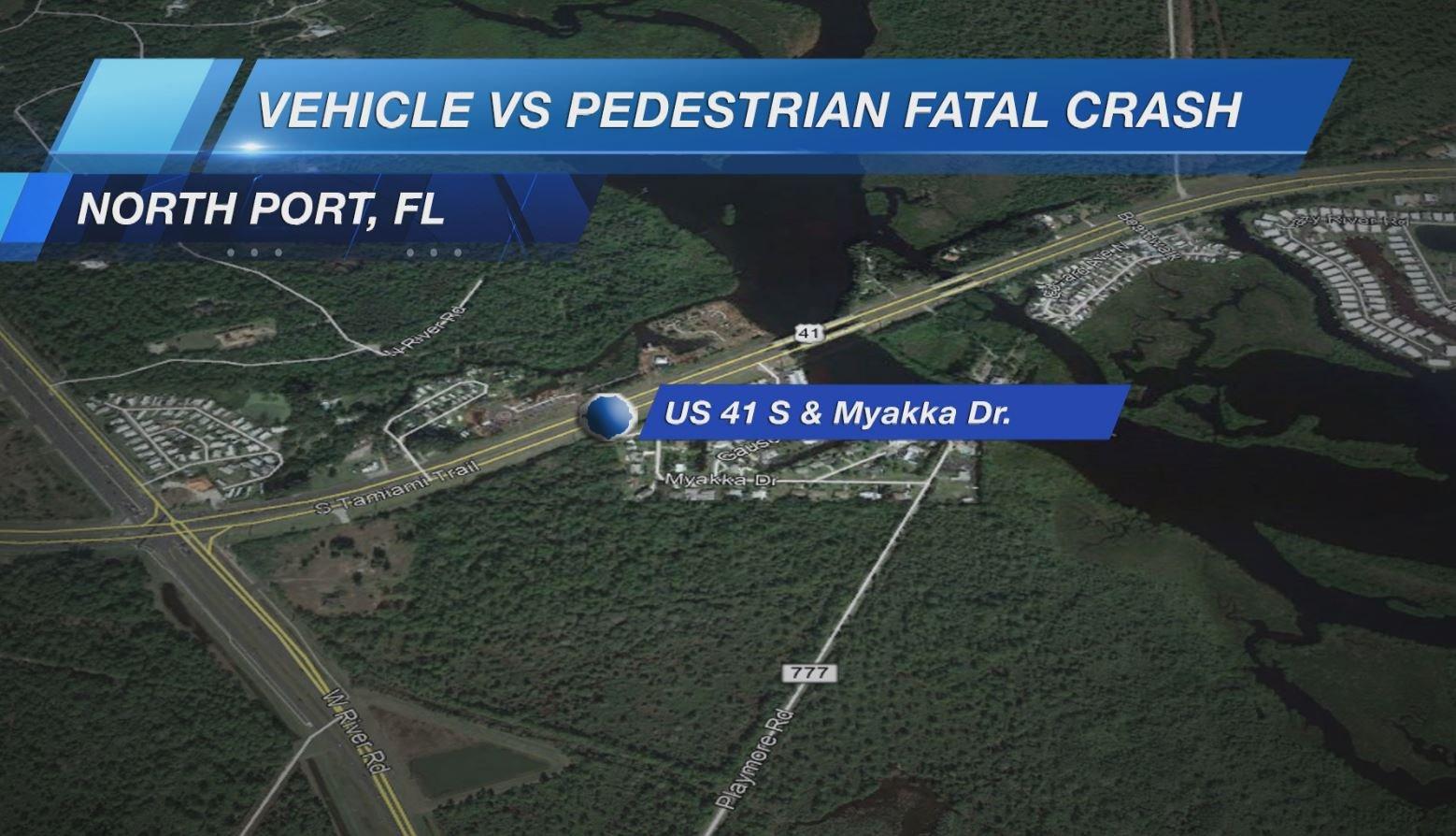 82-year-old woman struck by car, dies crossing U S  41