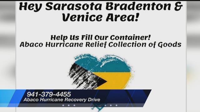 Suncoast locations for Bahamian relief aid - Suncoast News